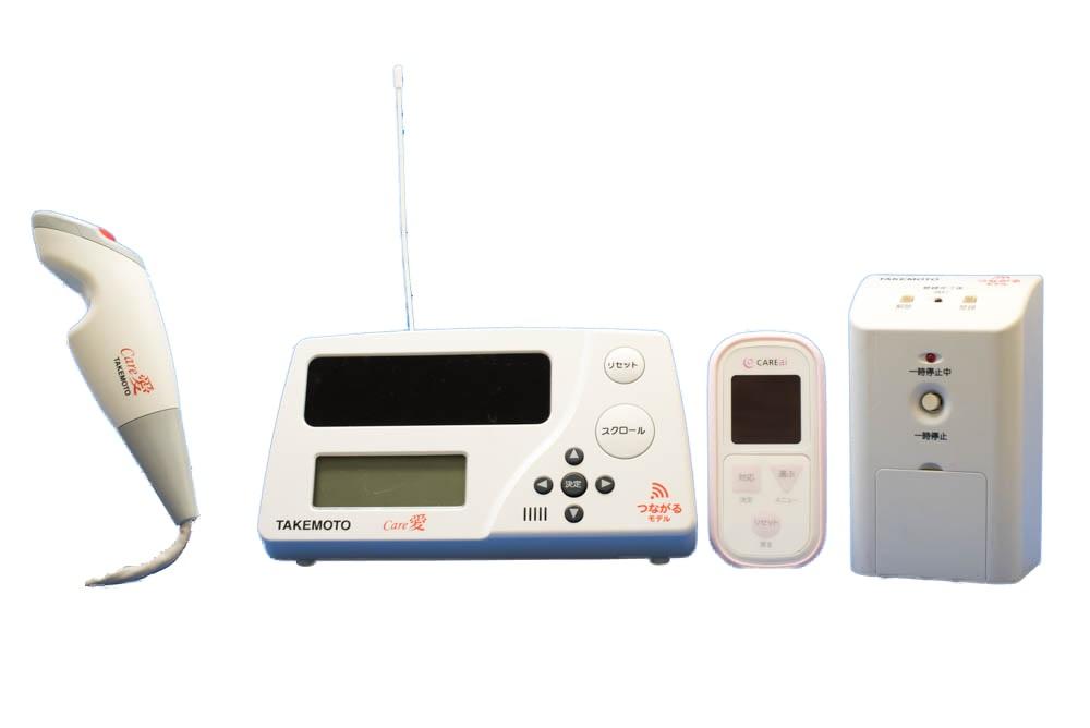 無線通信が届きにくい構造の施設・病院に最適。